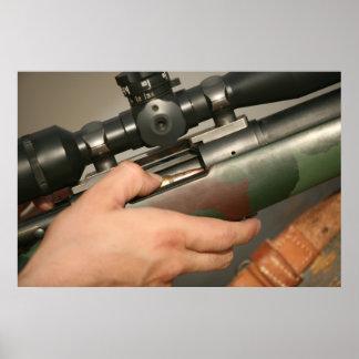 Rifle de francotirador M-40 Posters