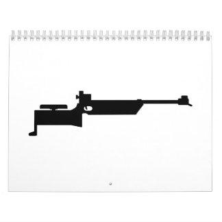 Rifle del Biathlon Calendarios