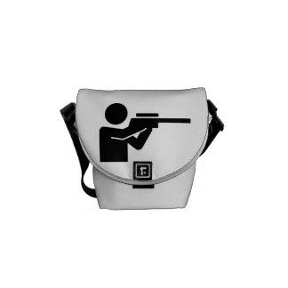 Rifle del cazador bolsa de mensajería