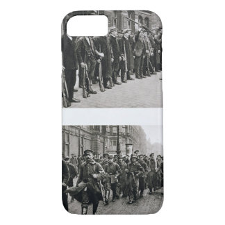 Rifle drill of the Spartacists (top) Revolutionary iPhone 7 Case