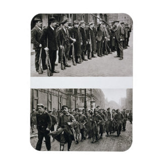 Rifle drill of the Spartacists (top) Revolutionary Rectangular Photo Magnet