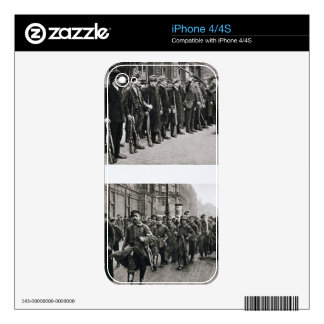 Rifle drill of the Spartacists top Revolutionary iPhone 4 Skins
