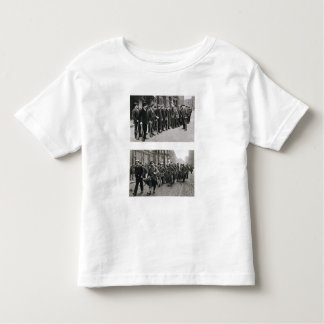 Rifle drill of the Spartacists (top) Revolutionary Toddler T-shirt