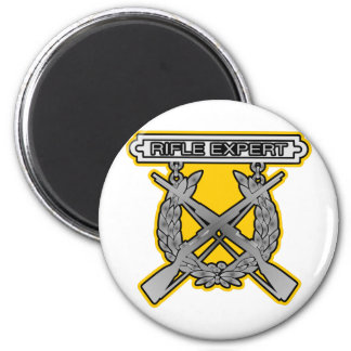 Rifle Expert Badge Magnet