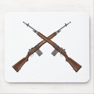 Rifle M14 Alfombrillas De Ratón