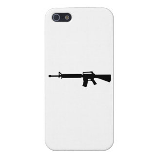 Rifle M4 iPhone 5 Fundas