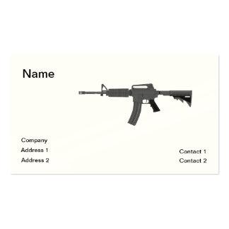 Rifle M-4 Tarjetas De Visita