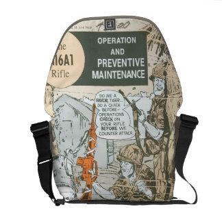 Rifle Maintenance Courier Bags