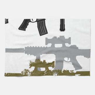 Rifle moderno toalla