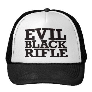 Rifle negro malvado - negro gorras