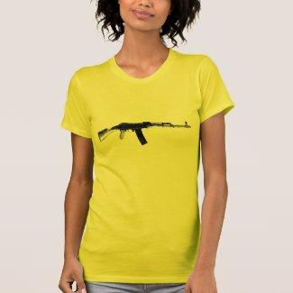 Rifle On A Shirt