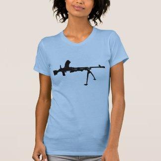 Rifle On Shirt Too
