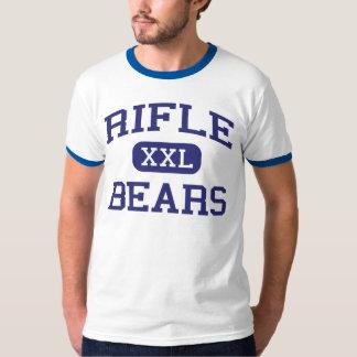Rifle - osos - High School secundaria del rifle - Playera