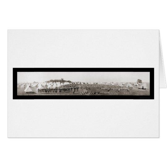 Rifle Range Army WWI Photo 1913 Card