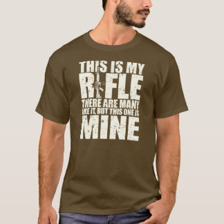 Rifleman's Creed - This Is My Rifles - Cream T-Shirt
