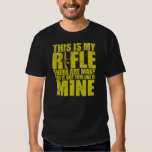 Rifleman's Creed - This Is My Rifles - Gold Tee Shirt