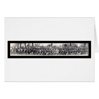 Riflemen WWI Photo 1917 Card
