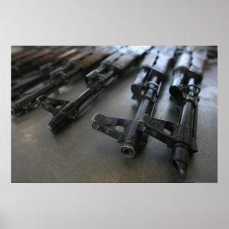 Rifles de asalto de AK-47 Posters