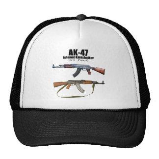 Rifles de asalto de Avtomat Kalashnikova de la his Gorros Bordados
