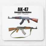 Rifles de asalto de Avtomat Kalashnikova de la his Tapete De Raton