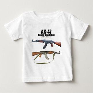 Rifles de asalto de Avtomat Kalashnikova de la Playera De Bebé