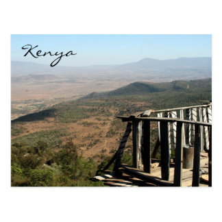 rift valley balcony postcard