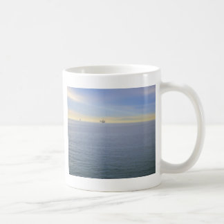 Rig At A Distance Coffee Mugs