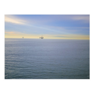 Rig At A Distance Postcard