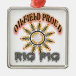 Rig Pig2 Christmas Tree Ornament