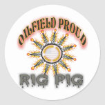 Rig Pig2 Classic Round Sticker