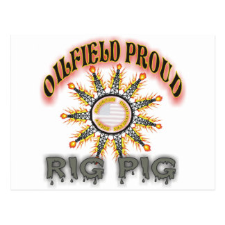 Rig Pig2 Post Cards