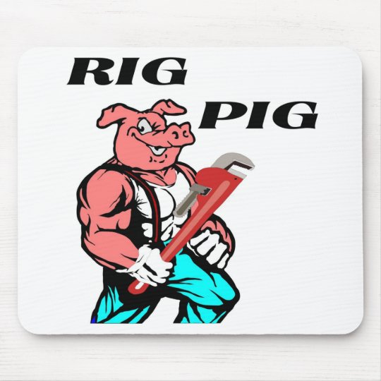 Rig Pig Mouse Pad
