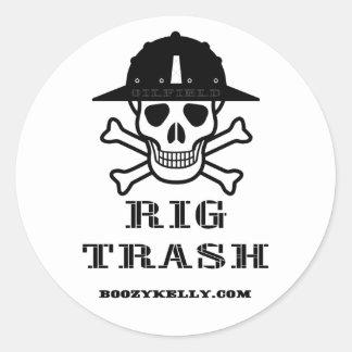 Rig Trash,  Oil Field Sticker