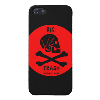 Rig Trash,Skull & Crossbones,iPhone Case,Oil Cover For iPhone SE/5/5s