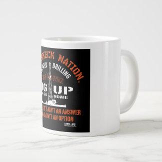 RIG UP GIRLZ LARGE COFFEE MUG