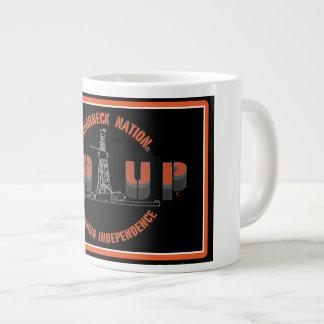 RIG UP LOGO LARGE COFFEE MUG