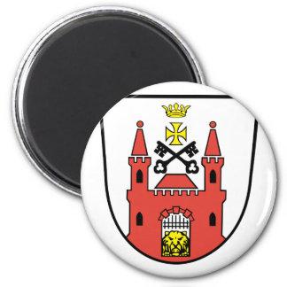 Riga, Latvia 2 Inch Round Magnet