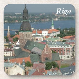 Riga, Latvia Beverage Coaster