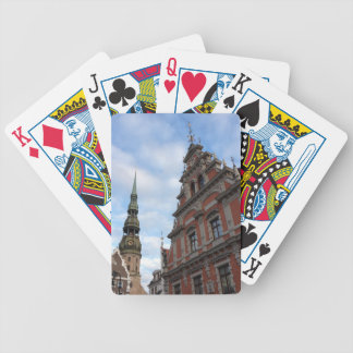 Riga, Latvia Bicycle Playing Cards