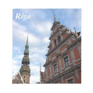 Riga, Letonia Bloc De Papel