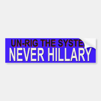RIGGED SYSTEM BUMPER STICKER