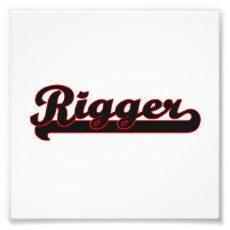 Rigger Classic Job Design Photo Print