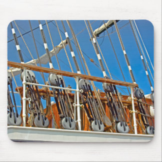 Rigging Lines Mouse Pad