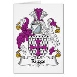 Riggs Family Crest Cards