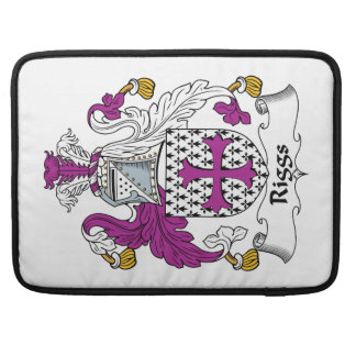 Riggs Family Crest MacBook Pro Sleeves