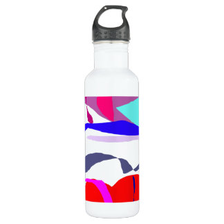 Right and Left 24oz Water Bottle