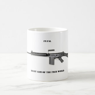 Right arm coffee mug