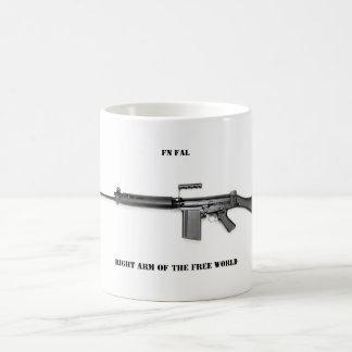 Right arm coffee mug