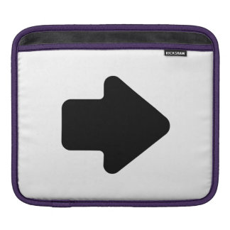 Right Arrow Sleeves For iPads