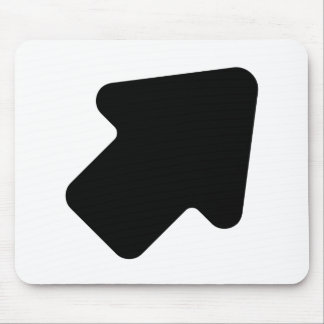 Right Arrow Pointing Up Mouse Pad